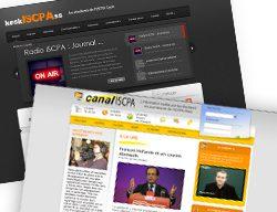 L'information traitée par les étudiants en journalisme de l'ISCPA