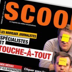 SCOOP, Le magazine des métiers du journalisme