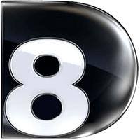 Logo partenaire de l'ISCPA Direct 8 groupe CANAL +