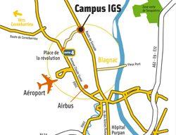 Contacts et accès à l'ISCPA Toulouse