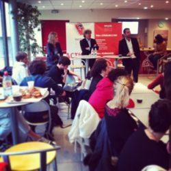 Jean-Christophe Tortora, Président de La Tribune, à l'ISCPA Toulouse