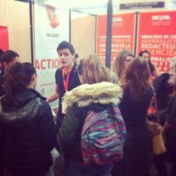 L'ISCPA Toulouse au salon Studyrama Bayonne le samedi 11 janvier