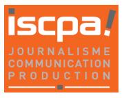 ISCPA, école de communication, école de journalisme, école de production