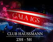 Gala des diplômés du groupe IGS