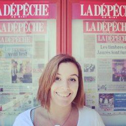 #MonStageISCPA Océane, Journaliste à La Dépêche du Midi «Castres»