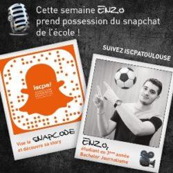 #MonSnapISCPA Cette semaine, partagez le quotidien d'Enzo