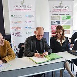 Le Groupe IGS signe un partenariat avec l'AFREF