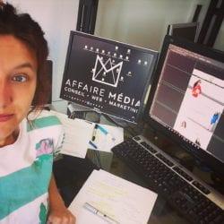 #MonStageISCPA Audrey, Graphiste chez Affaire Média (Montréal)
