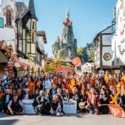 Journée d'intégration 2018 au Parc Astérix
