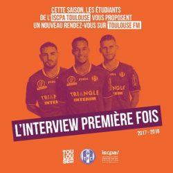 Lancement de l'interview Première Fois sur Toulouse FM !