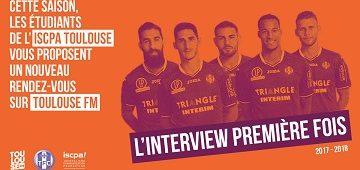 L'interview Première Fois sur Toulouse FM, nouvelle chronique radio 2017-18