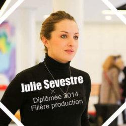 Portrait de diplômée Julie SEVESTRE