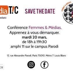Conférence Mediatic «Femmes & Médias»