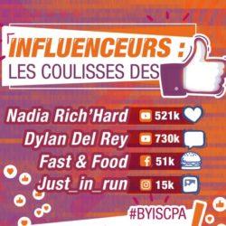 L'ISCPA Paris reçoit 4 influenceurs !
