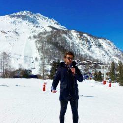 #monstageiscpa : Alexis à la Radio TV Val d'Isère
