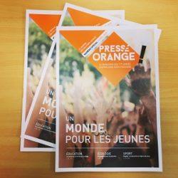 Presse Orange 2019 : Un monde pour les jeunes