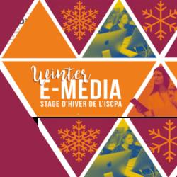 5 JOURS POUR DÉCOUVRIR LES MÉDIAS «WINTER E-MEDIA»