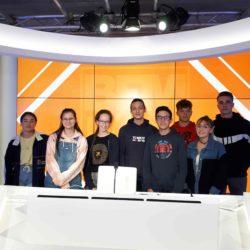 AUTUMN E-MEDIA : VISITE DE BFM LYON METROPOLE