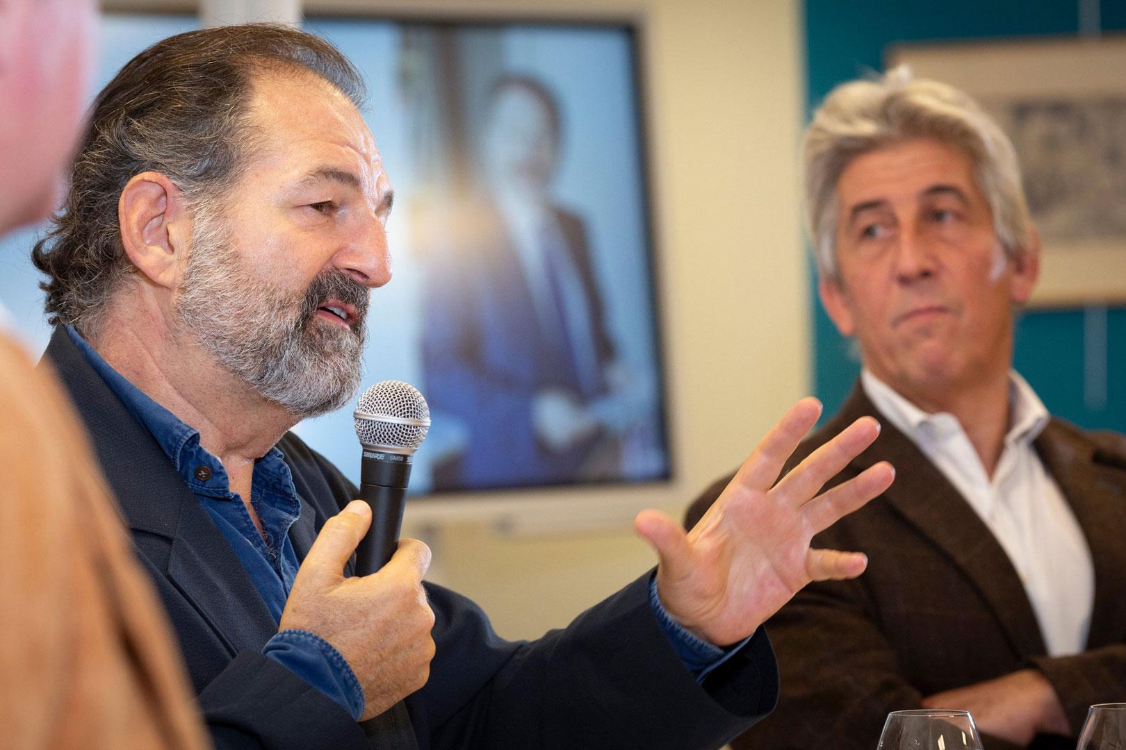 Cercle Culture & Médias - ISCPA Paris - Denis Olivennes et Hervé Rony