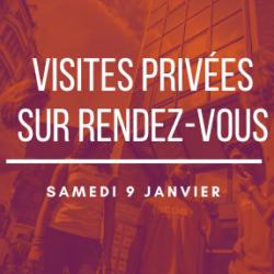 VISITES PRIVEES DU CAMPUS : SAMEDI 9 JANVIER