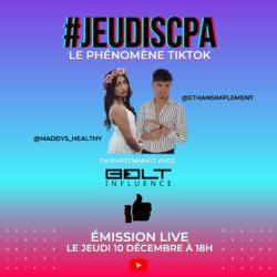 #JEUDISCPA – Le Phénomène TikTok !