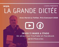 UN CONCOURS AVEC LE GONCOURT : spécial JEUDISCPA le 11 MARS à 17h30 !