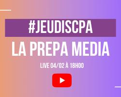 #JEUDISCPA – Découvrez la PREPA MEDIA