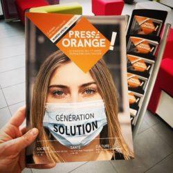 Presse Orange 2021 : Génération solution