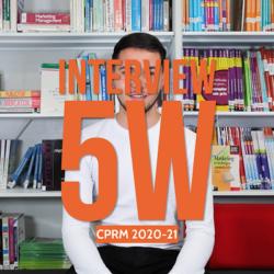 L'interview 5W des étudiants Chef de pub régie média
